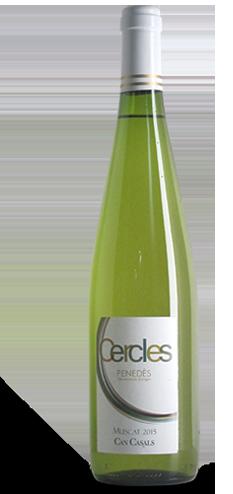 Ampolla de vi Can Casals - Cercles Muscat