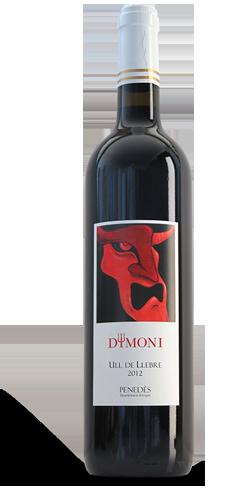 Ampolla de vi Can Casals Dimoni - UIl de llebre 2012