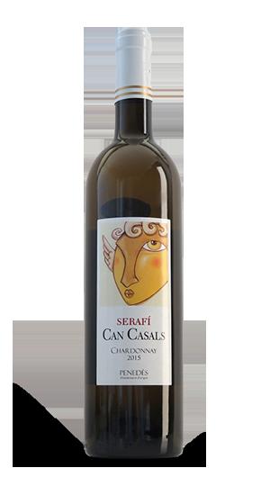 Ampolla de vi Can Casals Serafí - Chardonnay